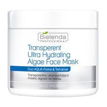 Bielenda Professional, transparentna, ultranawilżająca maska algowa do twarzy, 190 g