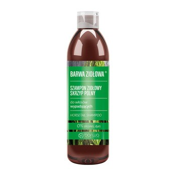 Barwa Ziołowa, szampon do włosów wypadających, skrzyp polny, 250 ml