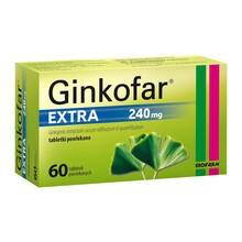 Ginkofar Extra, 240 mg, tabletki powlekane, 60 szt.