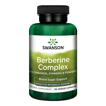Swanson Berberyna kompleks, kapsułki, 90 szt.
