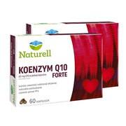 Zestaw 2x Naturell Koenzym Q10 forte, kapsułki, 60 szt.