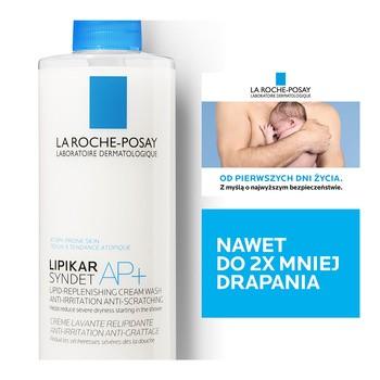 La Roche-Posay Lipikar Syndet AP+, krem myjący, 400 ml