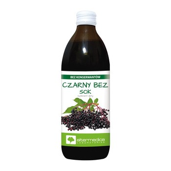 Czarny bez, sok, 500 ml (Alter Medica)