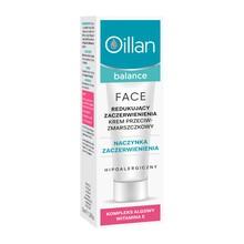 Oillan Balance, redukujący zaczerwienienia krem przeciwzmarszczkowy, SPF 15, 40 ml