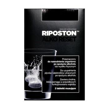 Riposton, tabletki musujące,  2 szt.