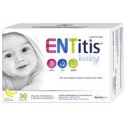 ENTitis Baby, proszek do rozpuszczania w saszetkach, smak bananowy, 30 szt.