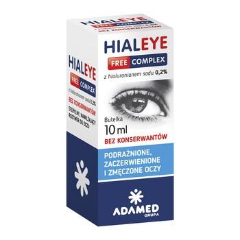 Hialeye Free Complex 0,2%, krople do oczu, 10 ml
