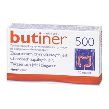 Butiner 500, tabletki, 30 szt.