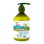 O`Herbal, odżywka do włosów suchych i zniszczonych, ekstrakt z lnu, 500 ml