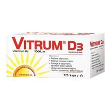Vitrum D3, kapsułki, 120 szt. (Takeda)