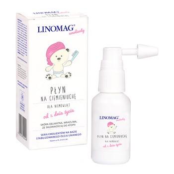 Linomag, płyn na ciemieniuchę dla niemowląt, 30 ml