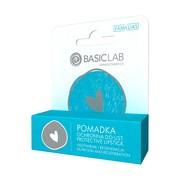 BasicLab Famillias, pomadka ochronna do ust, odżywienie i regeneracja, 1szt