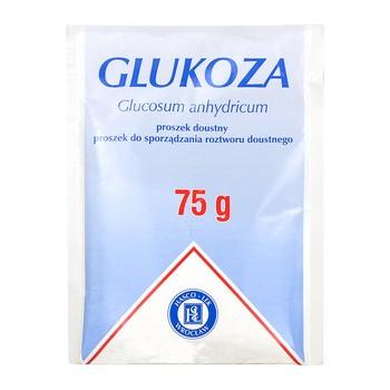 Glukoza, proszek doustny i do sporządzania roztworu doustnego, 75 g