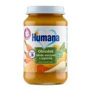 Humana 100% Organic, Obiadek warzywa z kaszą jaglaną, 10 m+, 190 g