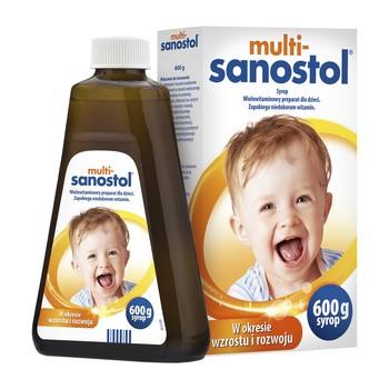 Multi-Sanostol, syrop, 600 g
