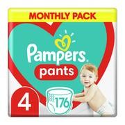 Pampers Pants 4 (9-15 kg), pieluchomajtki jednorazowe, 176 szt.