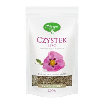 Czystek liść, zioła do zaparzania, (H.Poznań), 100 g