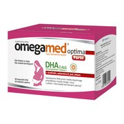 Omegamed Optima Forte, kapsułki, 90 szt. DHA + Optima, tabletki, 30 szt.