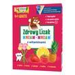 Zdrowy Lizak MniamMniam,(cytryna + malina + wiśnia +truskawka + ananas),5 szt.
