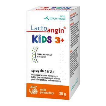 Lactoangin KIDS, spray do gardła o smaku pomarańczy, 30 g