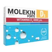 Molekin D3 Forte, 4000 j.m., tabletki powlekane, 60 szt.