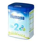 Humana 2, mleko następne, 750 g