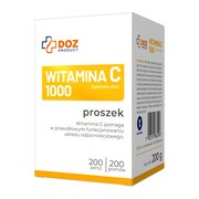 DOZ PRODUCT Witamina C 1000, proszek, 200 g