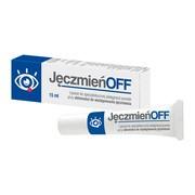 JęczmieńOFF, lipożel do pielęgnacji powiek ze skłonnością do powstawania jęczmienia, 15 ml