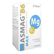 Asmag B6 Max, tabletki, 50 szt.