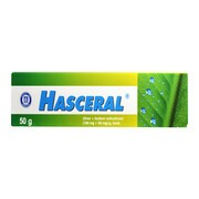 Hasceral, (100 mg + 50 mg)/g, maść, 50 g (tuba)