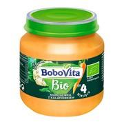 BoboVita Bio, obiadek marchewka z kalafiorkiem, 4 m+, 125 g
