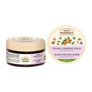 Green Pharmacy, peeling cukrowo-solny, olej arganowy i figi, 300 ml