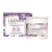 FlosLek Lavender, lawendowy krem odżywczy na dzień i na noc, Refill, 50 ml