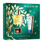 Zestaw Promocyjny NUXE Bestsellery Huile Prodigieuse®, suchy olejek, 50 ml + balsam do ust Reve de Miel, 15 g + krem nawilżający 48h Fraiche de Beaute, 30 ml