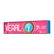 Veral, 10 mg/g (1%), żel, 100 g