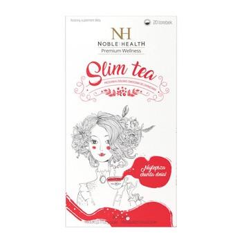 Slim Tea, mieszanka ziołowo - owocowa do zaparzania w saszetkach, 20 szt. (Noble Health)