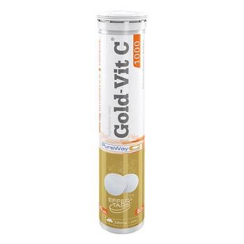 Olimp Gold-Vit C1000, tabletki musujące, smak cytrynowy, 20 szt.