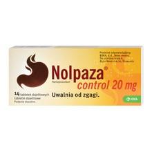 Nolpaza control, 20 mg, tabletki dojelitowe, 14 szt.