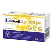 Sundovit D3-2000 j.m., kapsułki miękkie, 60 szt.