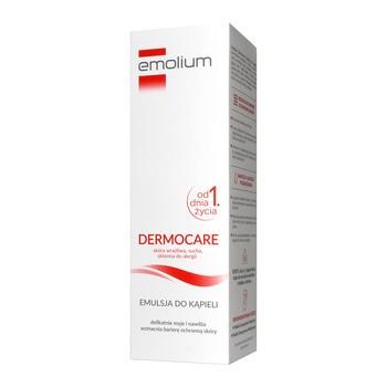 Emolium Dermocare, emulsja do kąpieli od 1. dnia życia, 400 ml