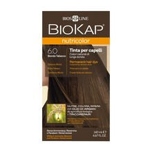 Biokap Nutricolor, farba do włosów, 6.0 tytoniowy blond, 140 ml