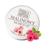 Fresh&Natural, malinowy balsam do ust, 15 ml