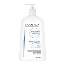 Bioderma Atoderm Intensive Gel moussant, łagodny żel oczyszczający i natłuszczający, 1 l