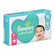 Pampers Active Baby 4+ (10−15 kg), pieluszki jednorazowe, 45 szt.