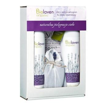 Zestaw Promocyjny Biolaven, żel myjący do ciała, 150 ml + balsam do ciała, 300 ml