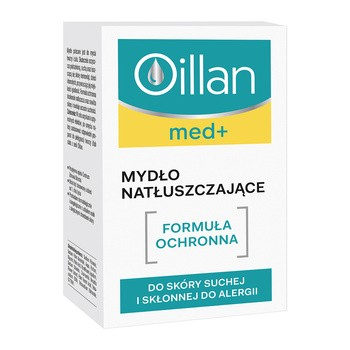 Oillan med+, mydło natłuszczające, 100 g