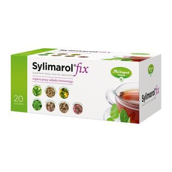Sylimarol fix, zioła do zaparzania, 1,5 g, 20 sasz.