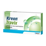 Kreon Travix, 10 000, kapsułki dojelitowe, 20 szt.