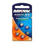 Baterie Rayovac Acoustic Special typ 13, do aparatu słuchowego, 6 szt.