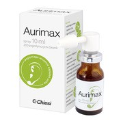 Aurimax, spray do uszu, 10 ml